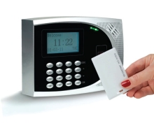 timeQPlus™ Proximity Time & Attendance System